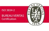CERTIFICAZIONE ISO 3834