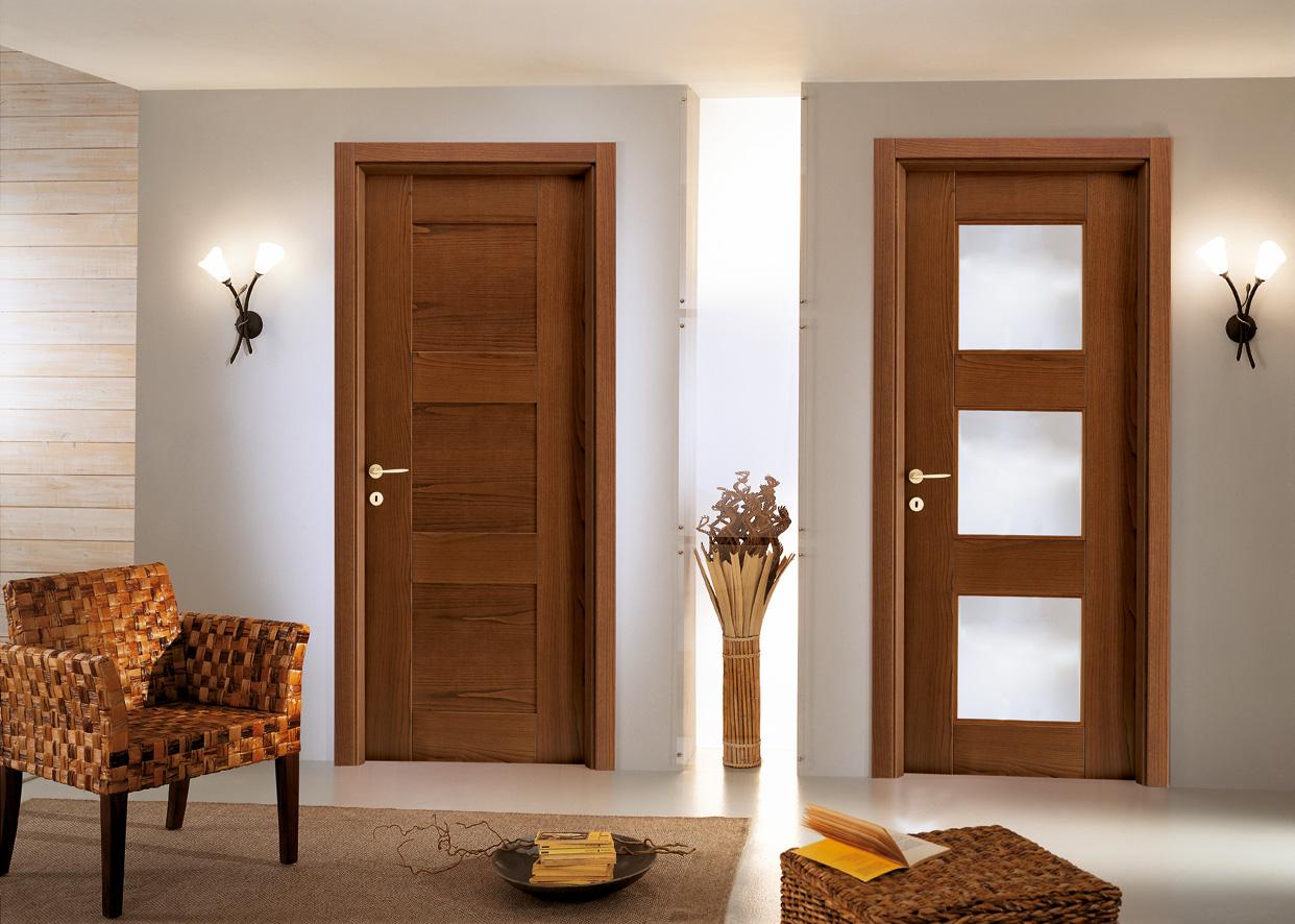 Porte da interno roma iaconi infissi - Modelli porte interne legno ...